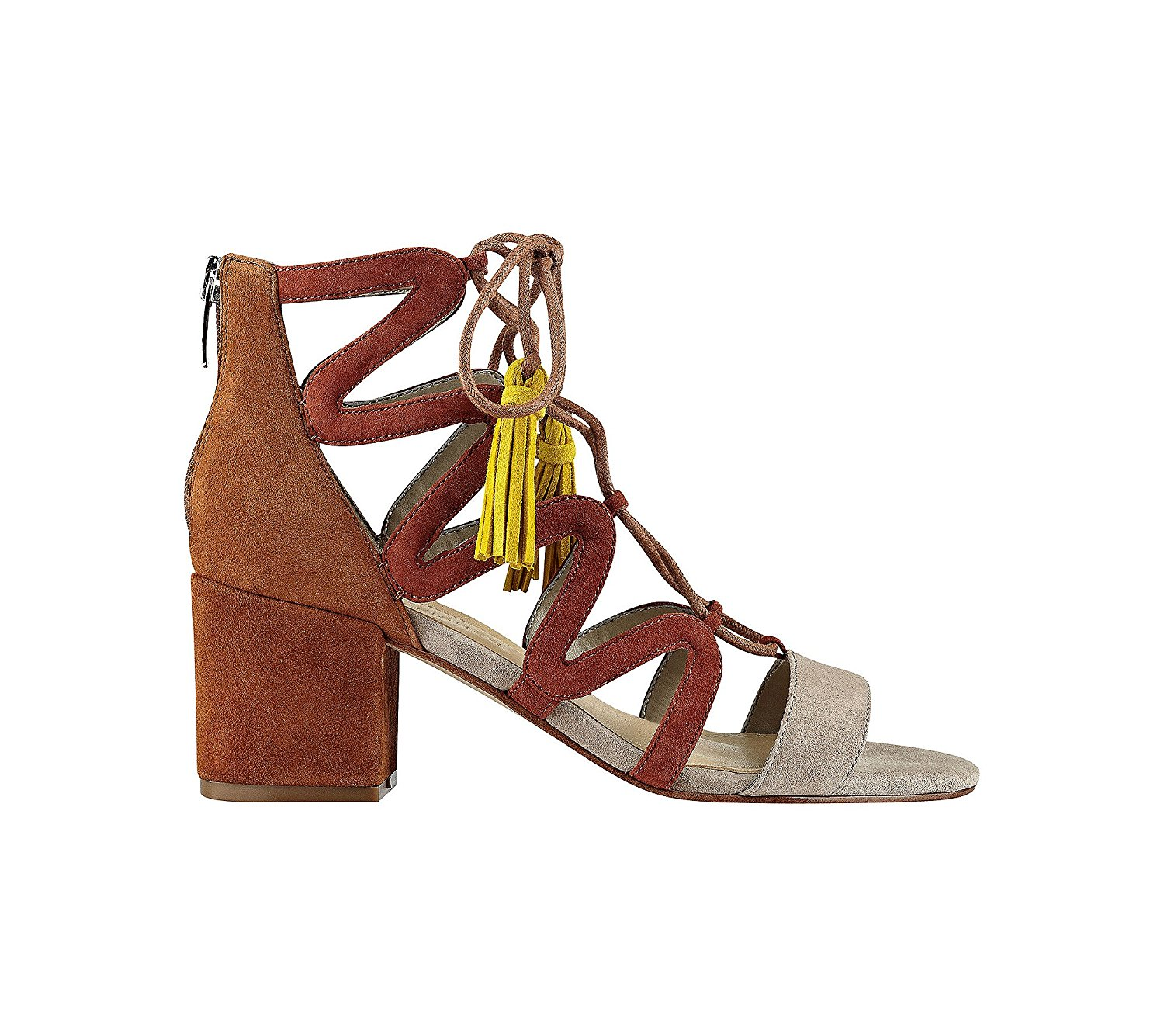 Marc Fisher Damenschuhe Rayz Almond Suede Almond Rayz Toe Casual Strappy Sandales     6e5af7