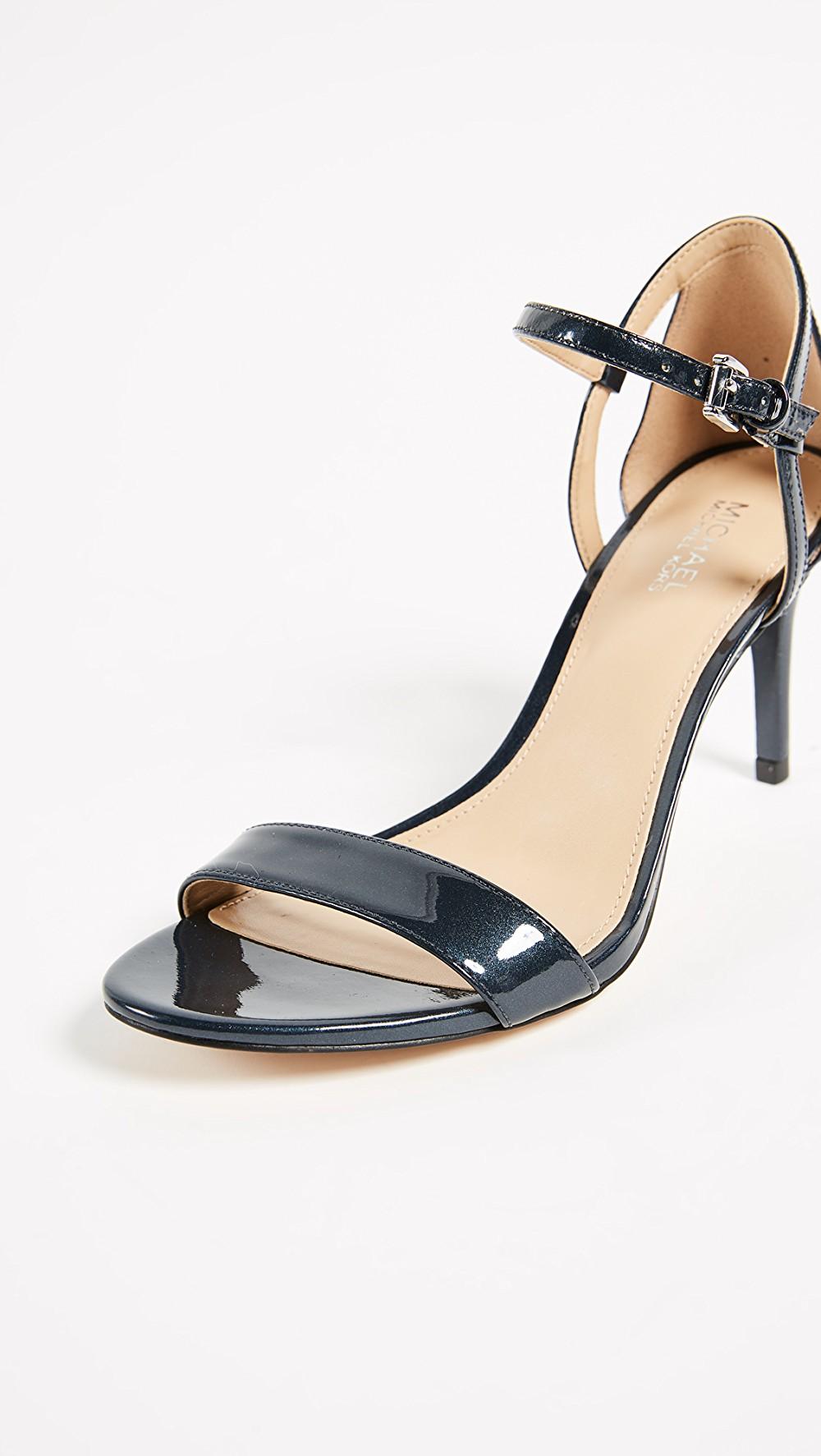 fb659f93973 Femmes Michael Michael Kors Simone mid sandal Sandales À Talon
