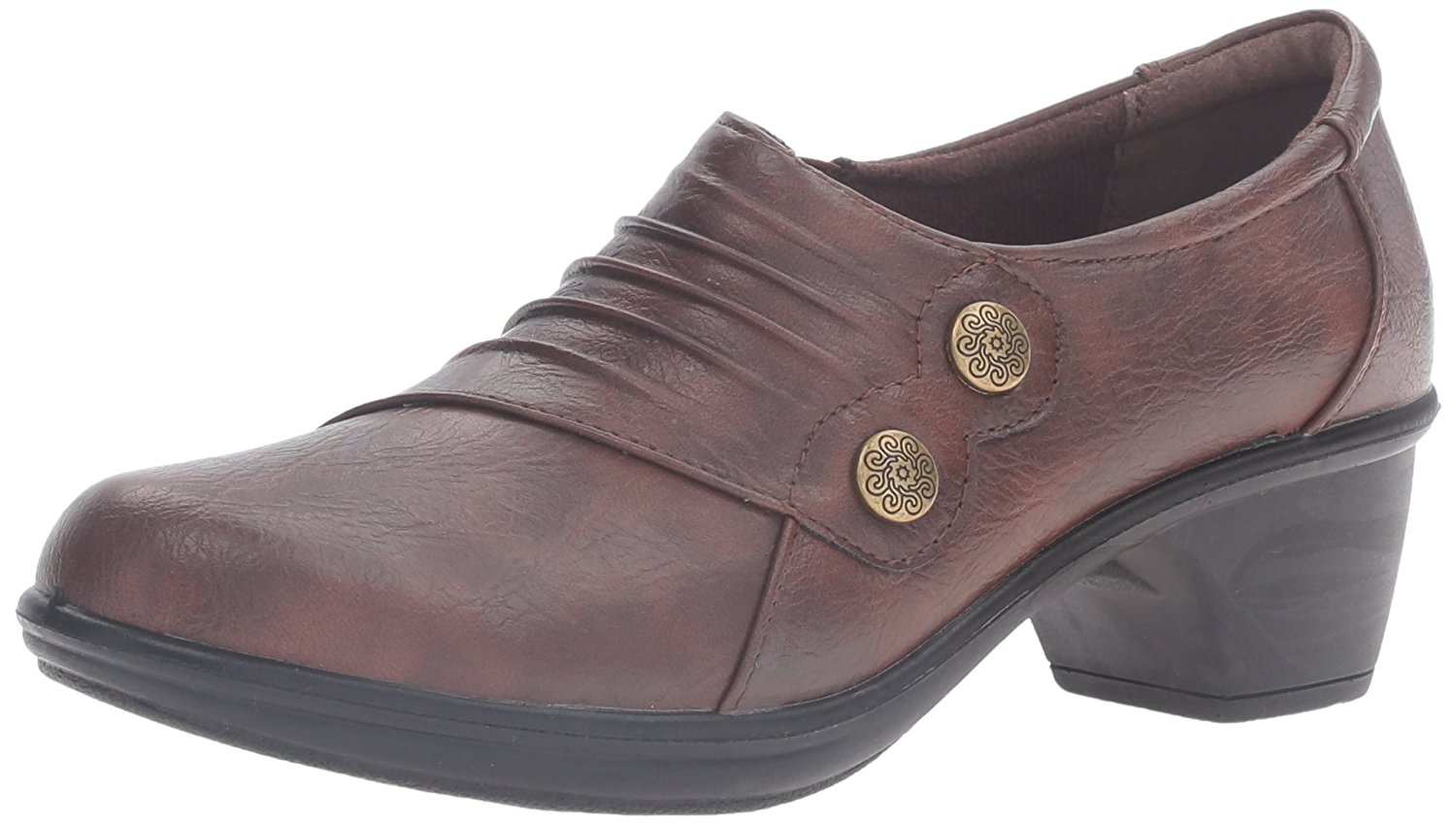 Easy Street Womens Edison Round Toe Clogs Grey Size 60