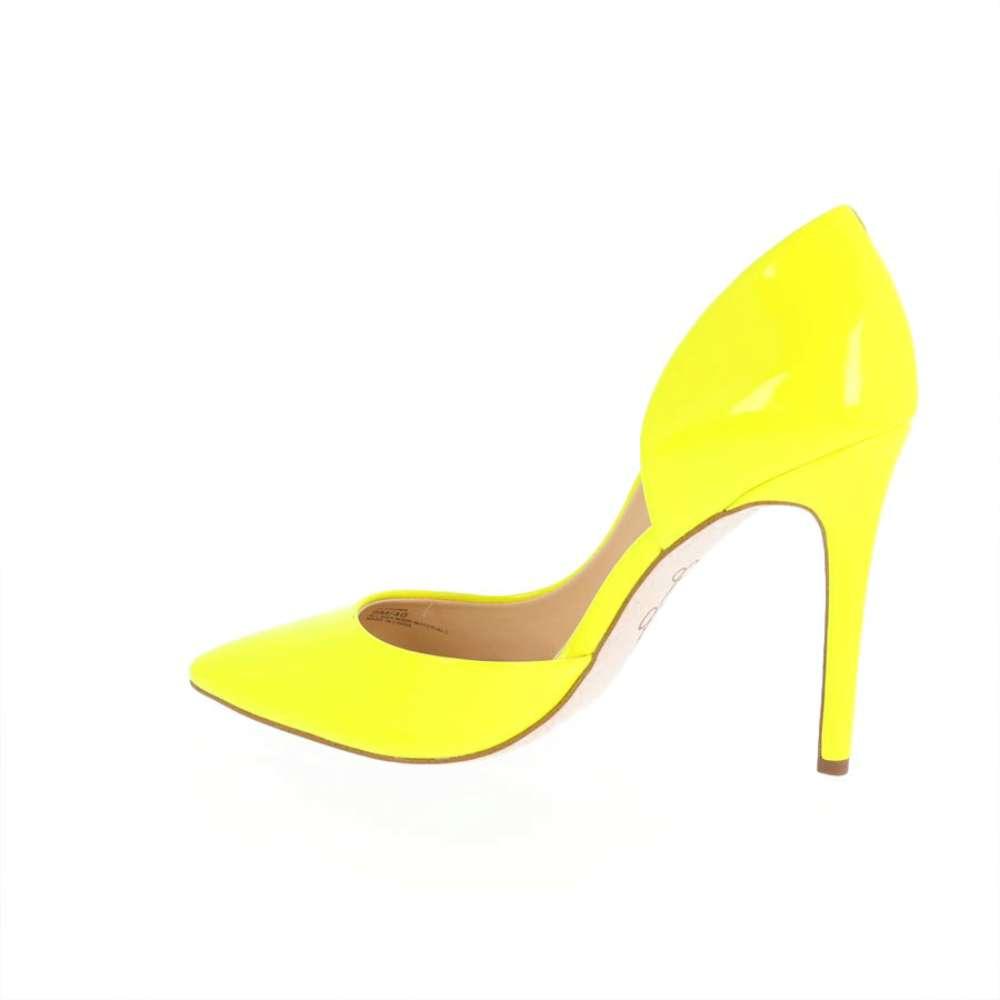 Jessica Simpson Womens prizma Yellow Pointed Toe Classic Pumps Yellow prizma Size 6.0 7e2214