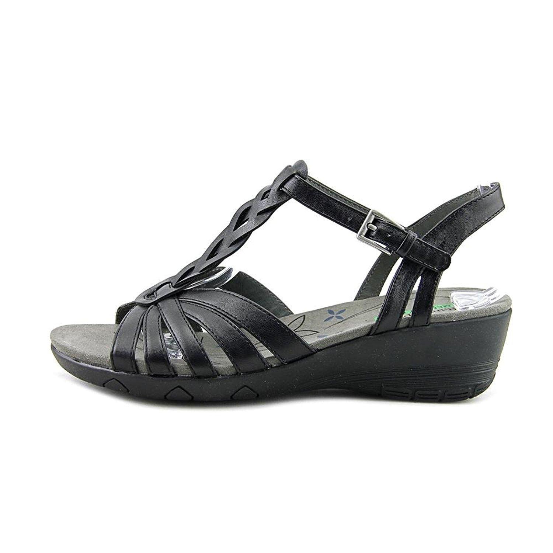8597d6922be Bare Traps Honora Memory Foam Wedge Sandals Black 8 UK