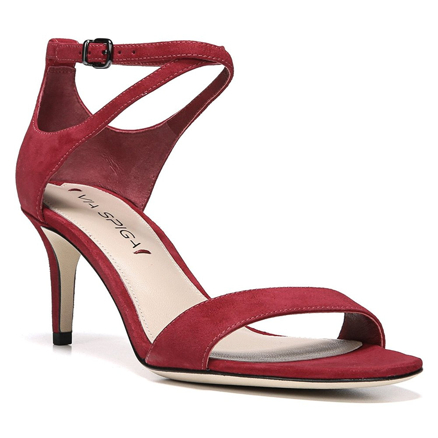 34d496a8348 Details about Via Spiga Womens Leesa Open Toe Casual Slingback Sandals