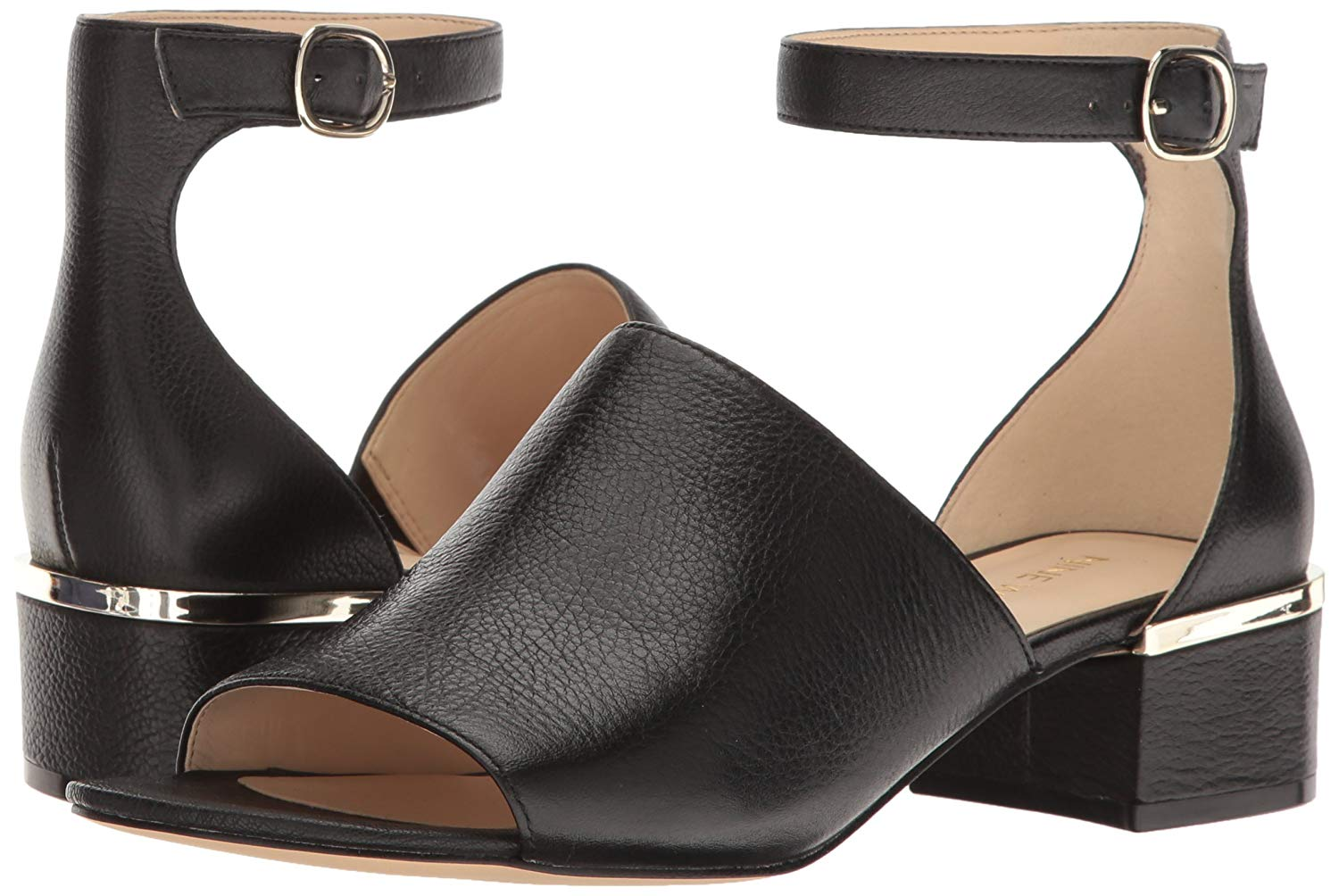 Nine West West West Womens Yorada Suede Peep Toe Casual Ankle Strap Sandals 1fb2a3