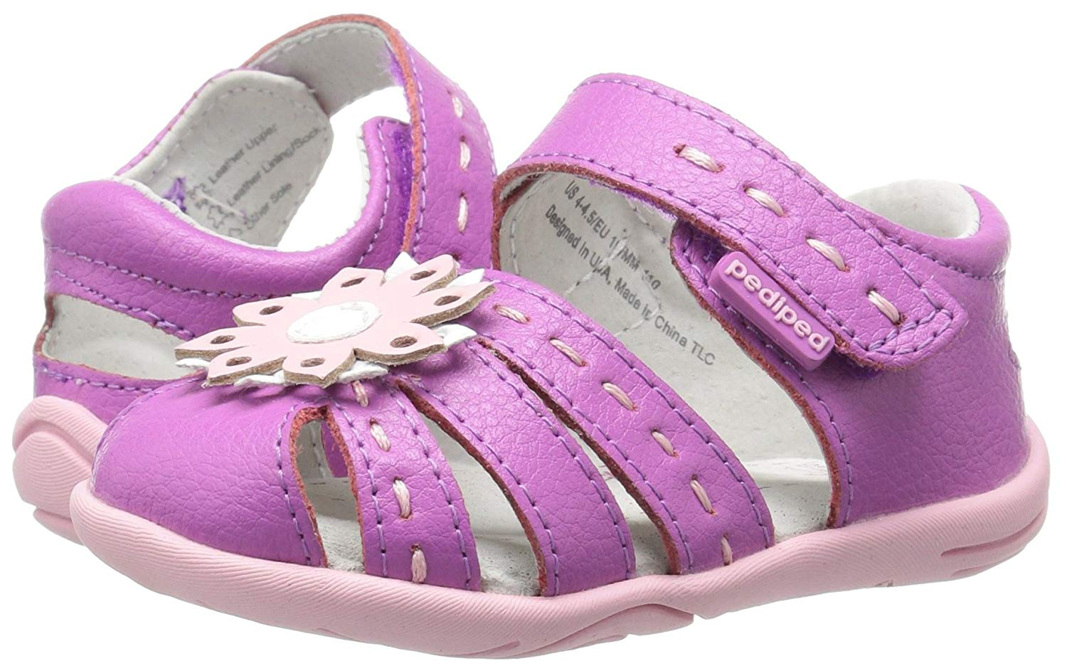 3b6be5dc3dd Kids pediped Girls Sabine Ballet Flats