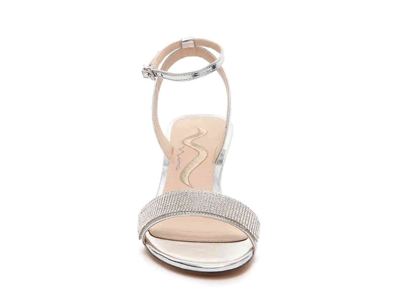 dd19925f141 Nina Womens nolia Fabric Open Toe Special Occasion Platform