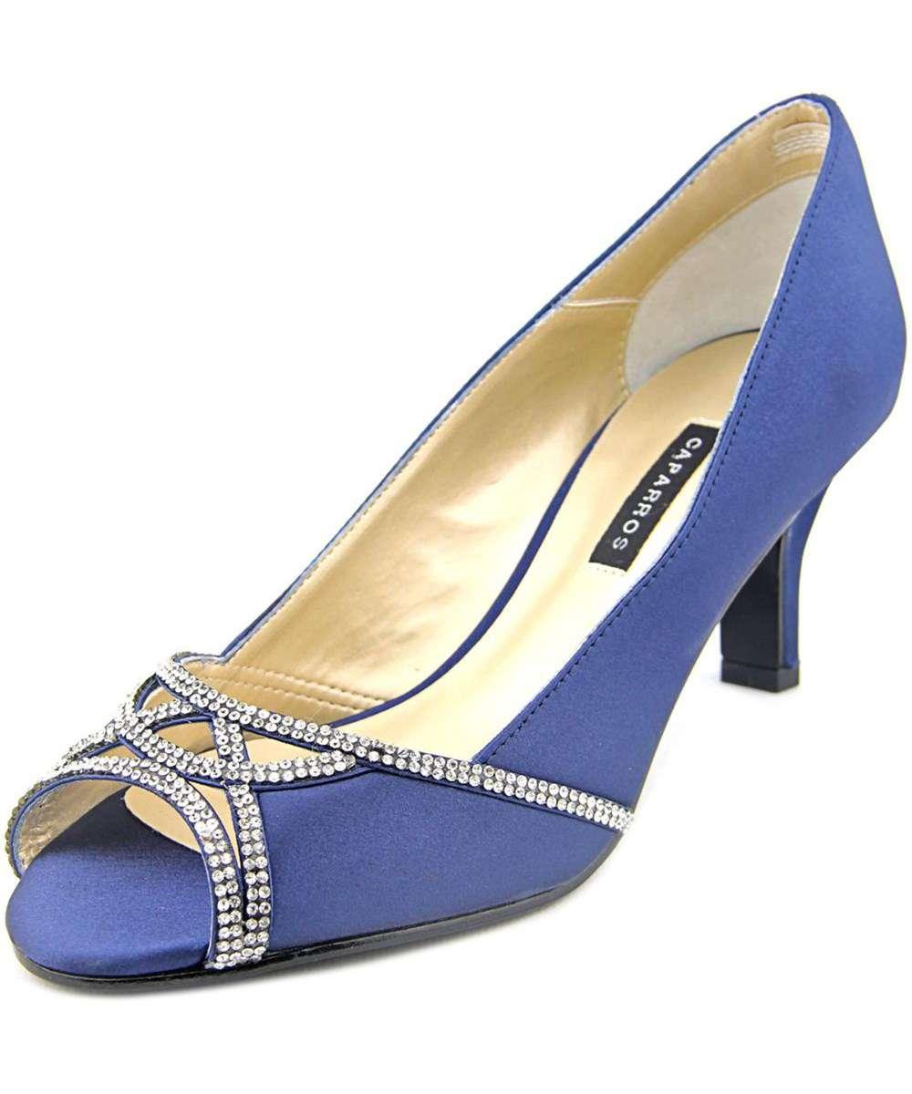 7de23ad1b8 Caparros Womens Endear Satin Open Toe Classic Pumps | eBay