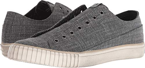 Details about John Varvatos Men's Two Tone Blended Fabric Low Top, Charcoal, Size 8.5 9SiQ