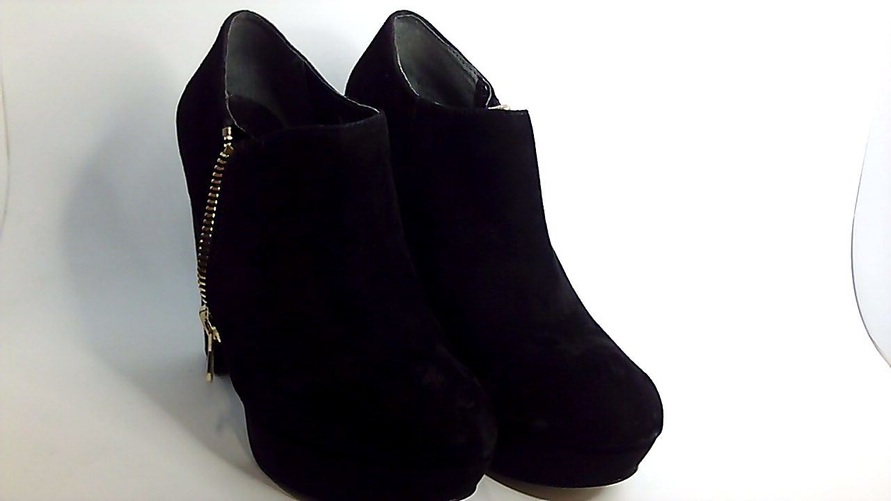 GUESS Womens PAPRIKAA Closed Toe Ankle Fashion Boots Black Size 8.5 AI58
